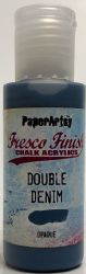 PaperArtsy Fresco Finish Chalk Acrylic Paint 50ml - Double Denim {was in FFSA3}